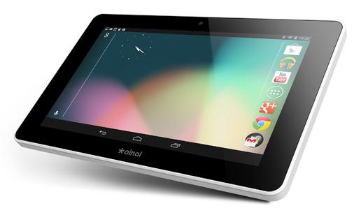 Des tablettes Android sur Sotactile
